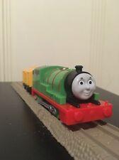 THOMAS Train Trackmaster Revolution Motorized Percy and Car