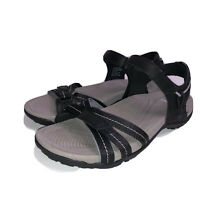 Earth Origins Sport Sandals Westfield Wendy Black 8.5M # 2019SXdlr