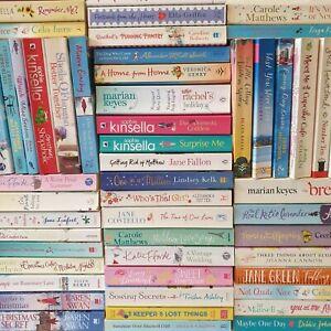 Chick Lit Book Bundle Paperback Womens Romantic Fiction Books 5, 10. 15 or 20