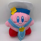 "Kirby Super Star Navy Captain Kirby Plush Soft Toy Doll Teddy 8"""