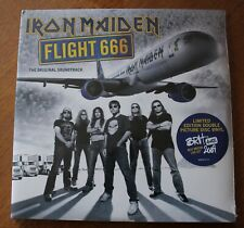 Iron Maiden, Flight 666 , 2LP - 33 tours Picture disc - neuf