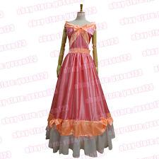 Cinderella Princess Pink Dress Cosplay Clothing Partywear Custom Made Adult Kid