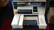 RARE VINTAGE MATTEL AQUARIUS COMPUTER SYSTEM (VGC BOXED)