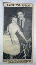 1960 Singer Jess Conrad Presents New Bicycle To Susan Pinckney Harpenden Road