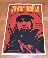 "24x36"" Cuban movie Poster 4 film Yawar Mallku.Bolivia Cinema.LAST 1."