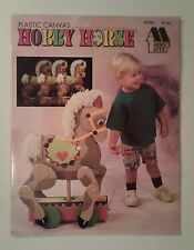 Rocking Horse Hobby Horse Annie's Attic Plastic Canvas Pattern ~Advanced project