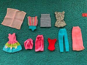 Vintage Barbie & Skipper CLOTHES LOT  **LIGHT TLC**