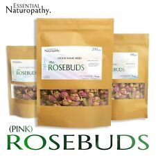 PINK ROSE BUDS DRIED REAL (Rosa centifolia) PREMIUM ROSEBUDS Tea Potpourri Bath