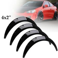 4Pcs 2''/50mm Universal Car Body Fender Flares Flexible Extra Wide Wheel