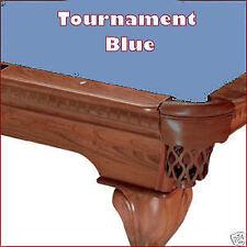 8' Pro Oversize Tournament Blue ProLine TEFLON Billiard Pool Table Cloth Felt