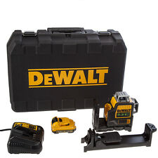 DEWALT DW089LG 10.8V 3 x 360 DEGREE GREEN BEAM LASER LINE LEVEL AUS MODEL 12V