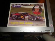 1989 Tom Baldwin No. 7 Ny Nascar Modified Postcard
