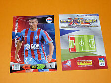 TAFFOREAU SMC STADE MALHERBE CAEN FOOTBALL FOOT ADRENALYN CARD PANINI 2010-2011
