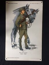 Original Wartime British Military Uniforms Poster-The Institute Of Army Educatio