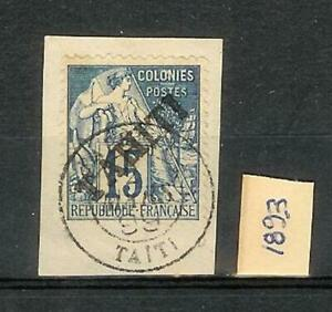 TAHITI       1893    STAMP
