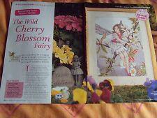 Wild Cherry Blossom Fata cross stitch chart