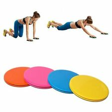 Exercise Sliding Gliding Discs Double Side Fitness Body Workout Sport Round Pads