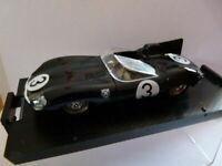 BR19D voiture 1/43 BRUMM 24 heures du Mans : JAGUAR TYPE D winner 1 st 1957 Bueb