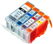 4x Ink Cartridges BCI-3eBK BCI-6C/M/Y for Canon S400 S520 iP3000 iP4000 iP5000