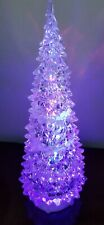 "Avon 2009 Festive Light Up Tree 12 1/2"" tall"