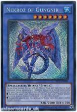 SECE-EN044 Nekroz of Gungnir Secret Rare UNL edition Mint YuGiOh Card