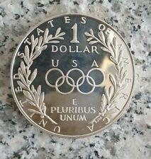 USA 1 Dollar 1988 Silbermünze - Olymische Sommerspiele in Seoul 1988 in PP