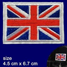 British Flag iron on patch UK flags Great Britain Union Jack iron-on patches