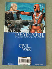 Cable and Deadpool 32 Marvel Comics Civil War