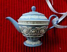 Genuine Wedgewood Mini Teapot 2011 Ornament