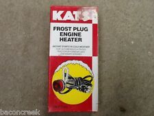 Kats  Frost Plug Engine Block Heater  400 watt 1.5625 inch