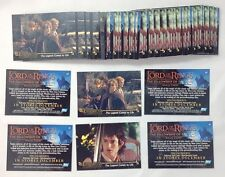 Lot of 32 Sets 2002 Topps Lord of The Rings Fellowship Of  The Rings P1 P2 Promo
