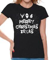 Merry Christmas Texas Shirt Texas Christmas Shirt Women's Ugly Christmas Gifts