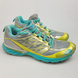 Women's NORTH FACE '566292' Sz 7.5 US Runners Green VGCon | 3+ Extra 10% Off