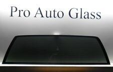 Fit 1988-1999 GMC Pickup K1500 K2500 Rear Back Window Glass Stationary Privacy