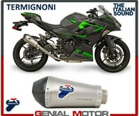 Pot D'Echappement Termignoni Relevan Carbone Kawasaki Ninja Z 400 2019 19