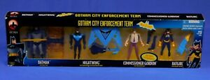 NEW BATMAN ADVENTURES GOTHAM CITY ENFORCEMENT TEAM 4-FIGURE SET 2000 HASBRO