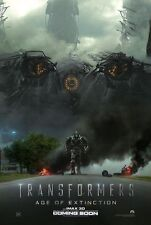 TRANSFORMERS AGE OF EXTINCTION DS MOVIE POSTER 2 Sided ORIGINAL Ver B 27x40