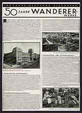 Wanderer-Werke Chemnitz Schönau Büromaschinen Feinmechanik Arbeiter Sachsen 1935