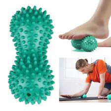 HH- Peanut Shape Spiky Massage Ball Foot Trigger Point Stress Relief Massager Fa