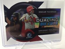 2014 Bowman Chrome Dualing Die Cut #DDC-TP Oscar Taveras/Gregory Polanco