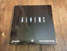 RARE LASERDISC aliens JAMES CAMERON SIGOURNEY WEAVER sci fi VG+