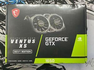 MSI NVIDIA GeForce GTX 1650 4GB GDDR6 Graphics Card - SAME DAY SHIPPING