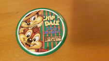 Disney Chip Pin Chip & Dale Rescue Rangers & Storytellers Cafe button Disneyland