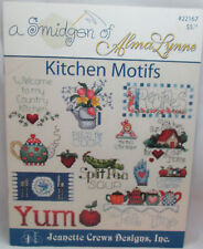 Jeanette Crews A Smidgen of Alma Lynne Kitchebn Motifs Cross Stitch Pattern