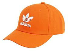 Adidas Trefoil Classic Caps Hat Baseball Orange Casual Fashion Hats Cap EK2997