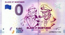 95 NEUVILLE-SUR-OISE Blake et Mortimer, 2018, Billet 0 € Souvenir