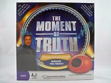 THE MOMENT OF TRUTH ADULT PARTY GAME w/ELECTRONIC BIOMETRIC LIE DETECTOR
