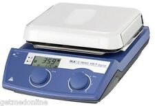 NEW ! IKA C-MAG HS7 IKAMAG Magnetic Hotplate Stirrer, 100-1500rpm, 3487001