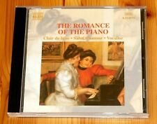 Various - The Romance of the Piano : 1999 Naxos CD