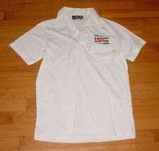 Vintage 1970s Lipton ice tea Polo Shirt by Knit Shirt Exchange White Pocket M
